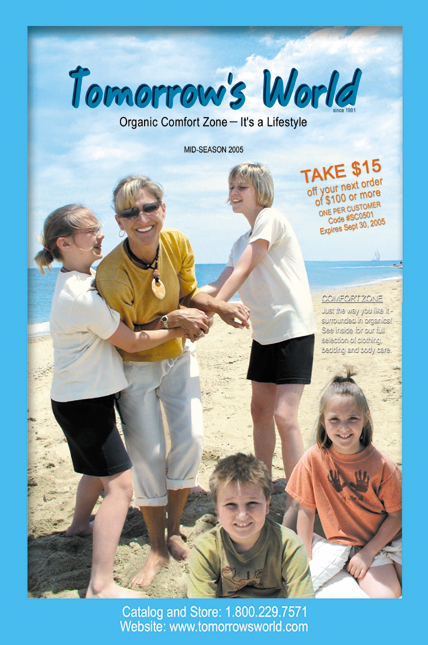 organic comfort catalog