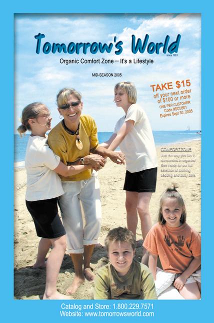 organic comfort catalog