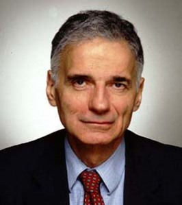 Ralph Nader Takes Home CozyPure Pillow