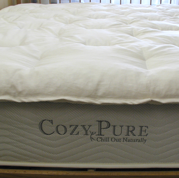 CozyPure Latex LaNoodle Mattress Topper Comparison to Competitor [VIDEO]