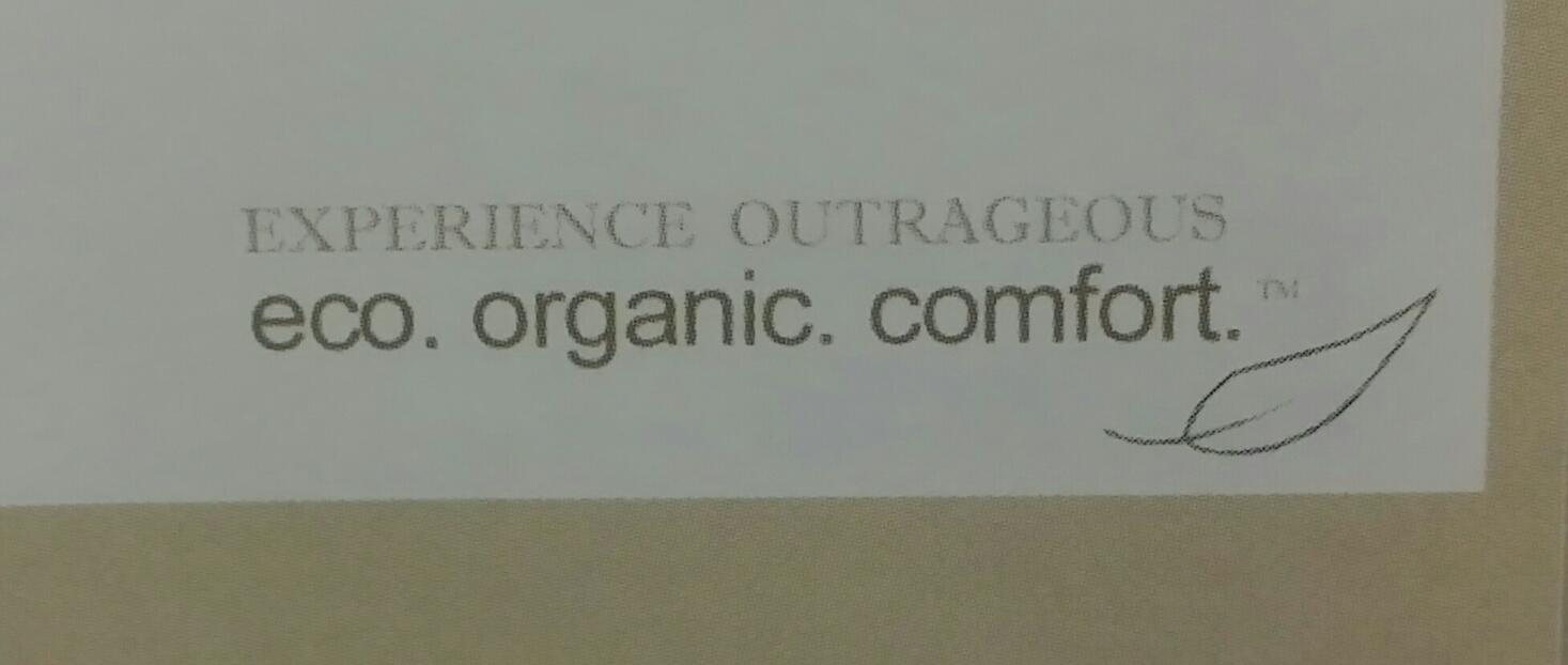 #tbt Experience CozyPURE Organic Comfort circa 2004
