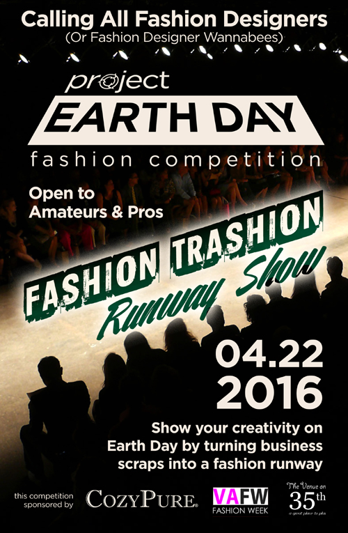Project Earth Day:  Fashion Trashion Runway Show