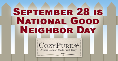 To Have a Good Neighbor, Be a Good Neighbor