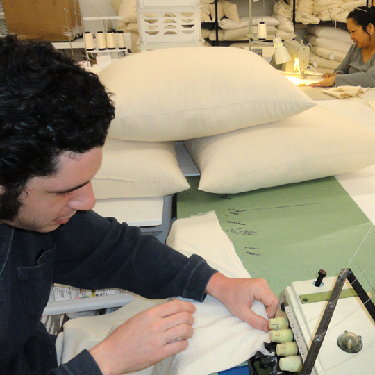 Manufacturers of organic bedding and mattresses