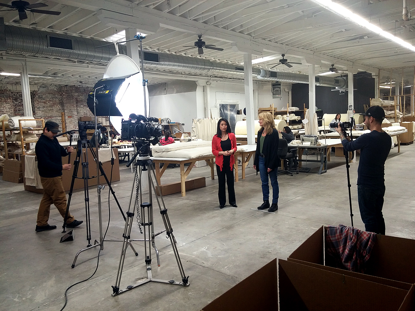 As Seen on TV – Behind the Scenes at CozyPure Mattress Factory
