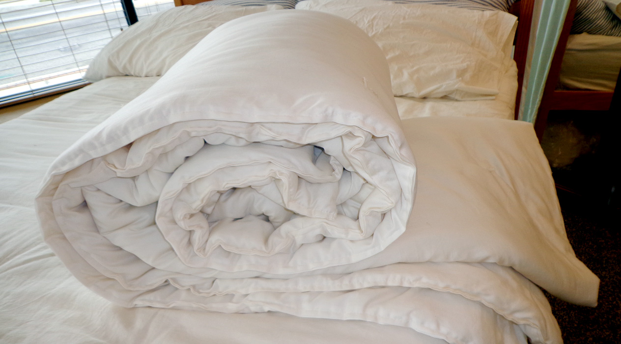 CozyPure's wool comforter: A lesson in temperature regulation