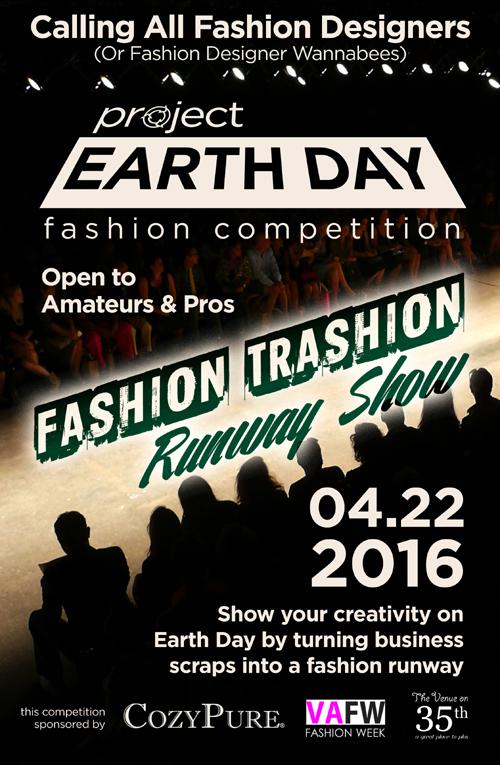 Project Earth Day:  Fashion Trashion Runway Show