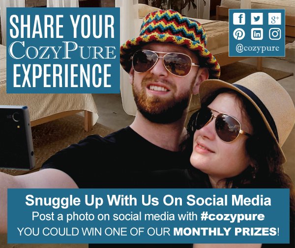 Show us how Cozy you are with your CozyPure